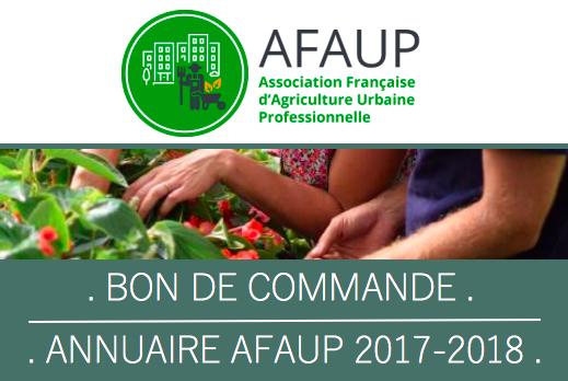 Bon Commande AFAUP